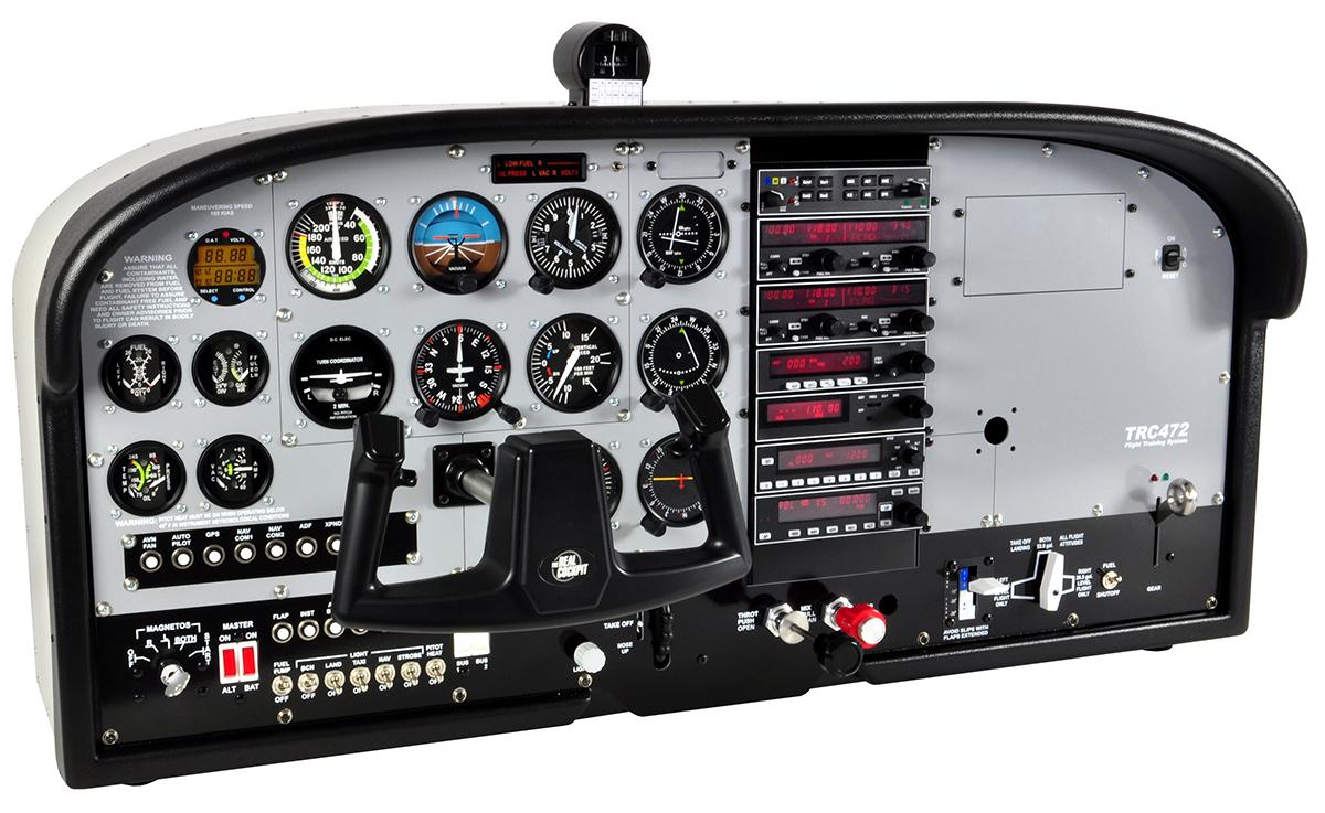 TRC 472A Flight Deck – TRC Simulators