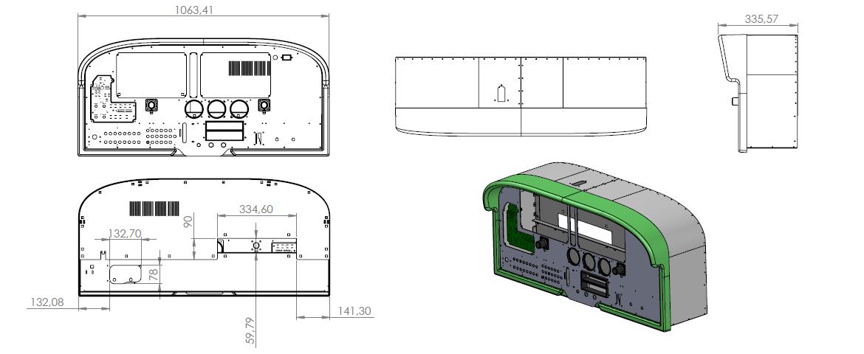 TRC 472G Flight Deck – TRC Simulators